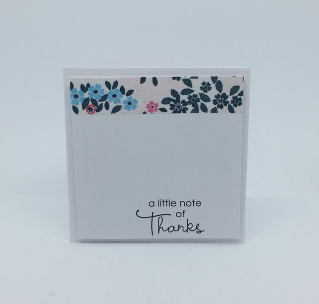Thank You Notecards - pack of 4