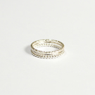 Stacking rings, set of 3 rings, silver rings