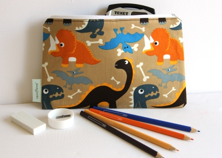 Pencil Case. Dinosaurs Roar!