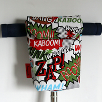 Roomy Zap! Boom! Micro Scooter or bicycle bag. Great gift for Children
