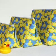 Cute Rubber Duck Medium Wash Bag. Great Gift For Ladies or Teenagers