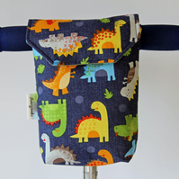 Cheeky Dinosaurs Micro Scooter or bicycle bag. Great gift for Boys and Girls