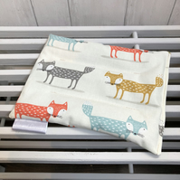 Cotton Wheat Bag - Fox Fabric