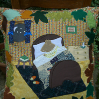Mrs Mouse's Bedtime Cushion
