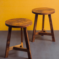'Tripos' Stool Side Table