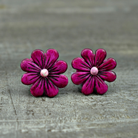 Sweet Daisy Bead in Violet