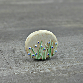 Bluebell Wood Bead