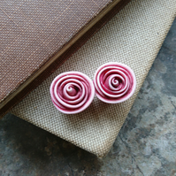 Rose Bead in Dusky Pink