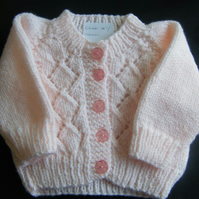 New Born Pink Cardigan