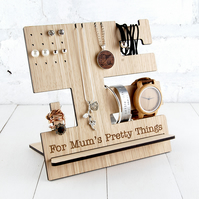 Personalised Jewellery Stand Multi item storage