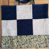 Patchwork Cotton Tote Bag
