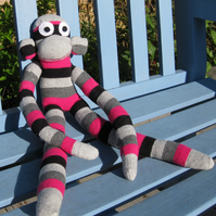 Mabel the Sock Monkey