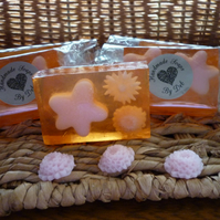 PEACH TEA  - OLIVE OIL SOAP BAR.  032
