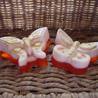 PASSION FRUIT - BUTTERFLY SHAPED SOAPS - 055