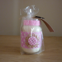 AMBER NOIR - SOY SCENTED CANDLE - RECYCLED GLASS JAR.