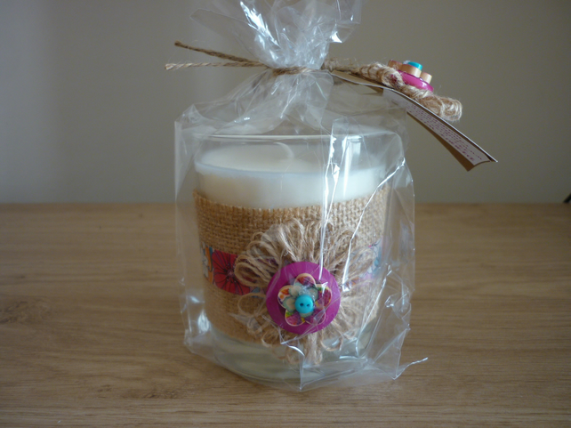 PARADISE - SOY SCENTED CANDLE - MEDIUM GLASS JAR