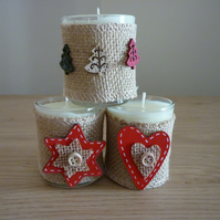 CHRISTMAS SPICE - HANDMADE SOY CANDLE - VOITIVE CHRISTMAS CANDLES.