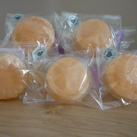 PASSION FRUIT LOOFAH SOAP.