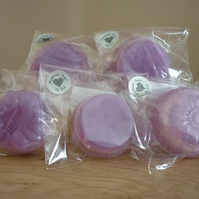 BLUEBERRY & VANILLA - LOOFAH SOAP.