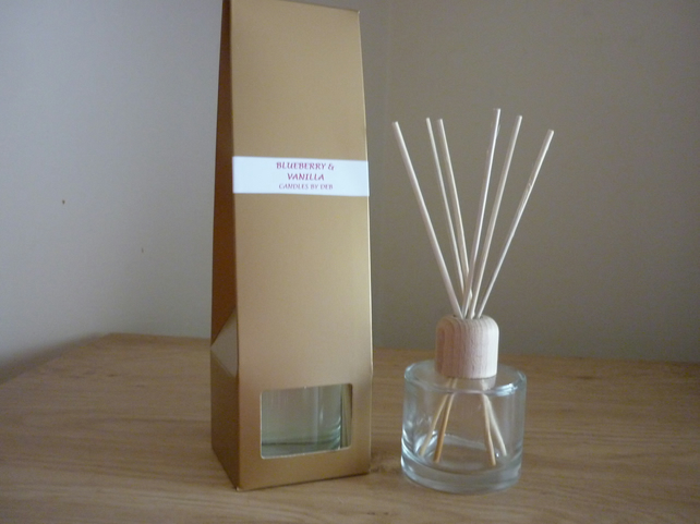 BLUEBERRY AND VANILLA - REED DIFFUSER.