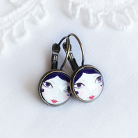 Doll Face Earrings