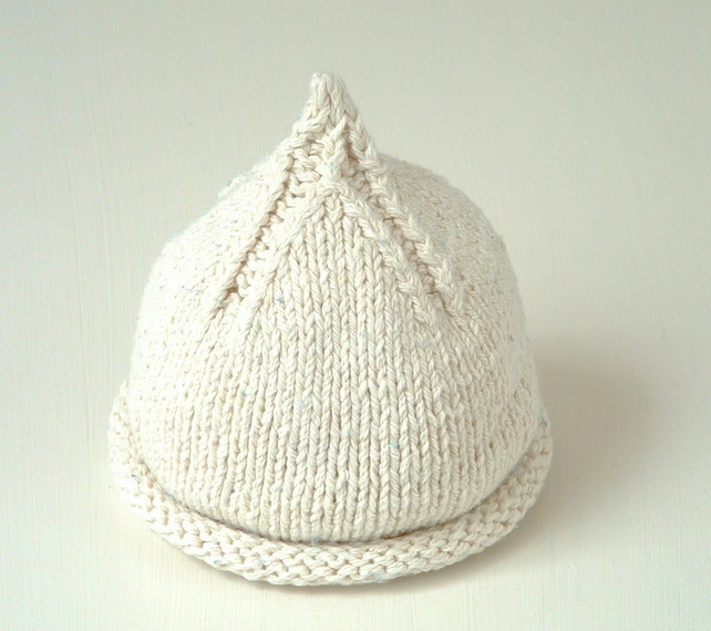 Toddler Beanie Knitting Pattern : KNITTING PATTERNS baby beanie hats - newborn t... - Folksy