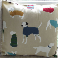 "Dogs design Cushion Cover 40cm (16"")"