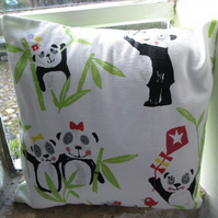 "White Panda Cushion Cover 40cm (16"")"
