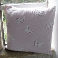 Applique Butterflies Cushion Cover