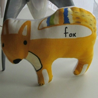 Cute Printed Fox Pin Cushion