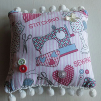 Pretty Sewing Pin Cushion