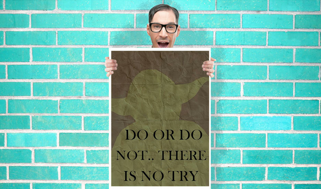 Yoda Do Or Do Not There Is No Try Star Wars
