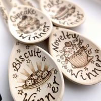 Decorative Wooden Spoon, Personalised Spoon, Custom gift, Pyrography Spoon