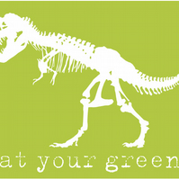 eat your greens! green