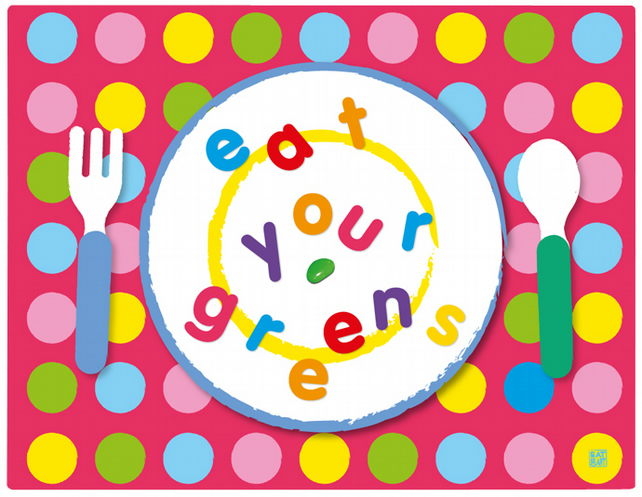 eat your greens! jellybean