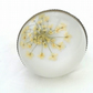 Queen Annes Lace  White  Ring
