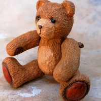 LC - Tearful Brown Petit Beau Bear - Collectable - Gift