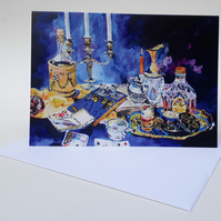 'Myrrh' - Blank greetings card