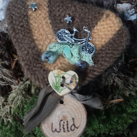 Wild wood and woolly big medal
