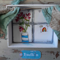 Hope window wall hanging