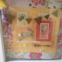 Deep framed collage box