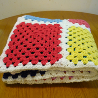 Extra Large Hand Crochet Blanket orThrow