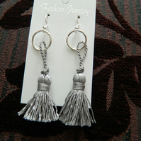 Earings with Tassels for Pierced Ears