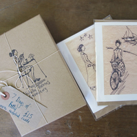 A Week of Betty, Boxed Set of Greetings Cards