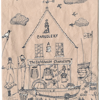 'The Lighthouse Chandlery' giclee print
