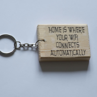 """home is where your WIFI connects automatically"" keyring"