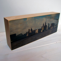 Liverpool skyline photoblock