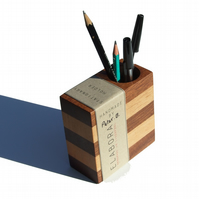 LAYERED collection stationery holder