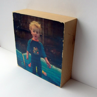Personalised Picture Block
