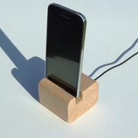 Beech Phone Holder